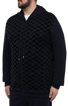 Мужской спортивный костюм ZILLI SPORT темно-синего цвета, арт. MBU-J0577-SP0R9/ML01 | Фото 2