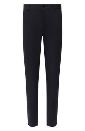 Мужские хлопковые брюки BURBERRY темно-синего цвета, арт. 8017627 | Фото 1
