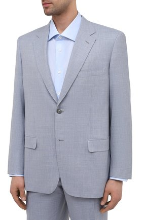Мужской шерстяной костюм BRIONI светло-голубого цвета, арт. RAH012/P0A69/PARLAMENT0 | Фото 2