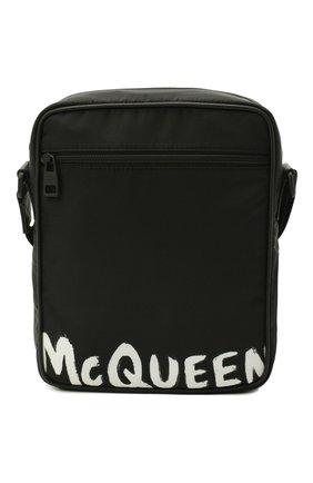 Мужская текстильная сумка ALEXANDER MCQUEEN черного цвета, арт. 632026/HWC2B | Фото 1
