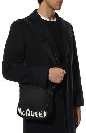 Мужская текстильная сумка ALEXANDER MCQUEEN черного цвета, арт. 632026/HWC2B | Фото 2