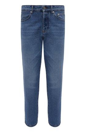 Мужские джинсы AMI синего цвета, арт. E21HD204.601 | Фото 1