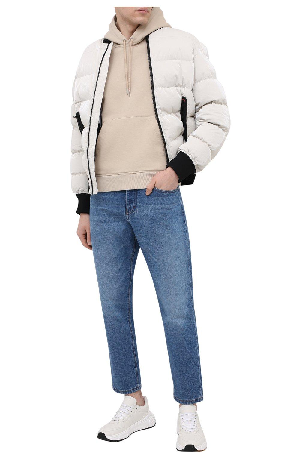 Мужские джинсы AMI синего цвета, арт. E21HD204.601 | Фото 2