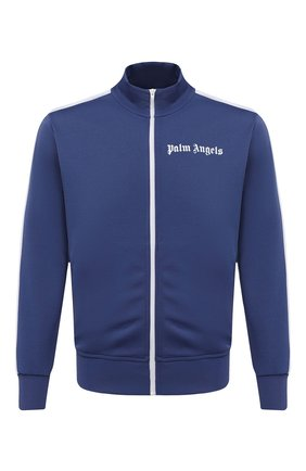 Мужской толстовка PALM ANGELS темно-синего цвета, арт. PMBD001R21FAB0014601 | Фото 1