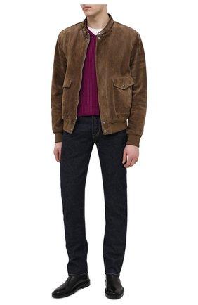 Мужской кашемировый свитер TOM FORD бордового цвета, арт. BWK56/TFK300 | Фото 2