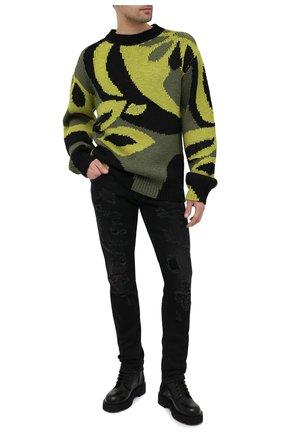 Мужские джинсы DOLCE & GABBANA черного цвета, арт. GY07LD/G8DK8 | Фото 2