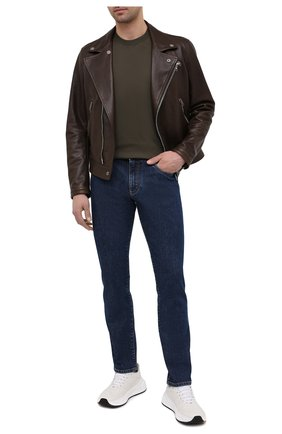 Мужские джинсы DOLCE & GABBANA синего цвета, арт. GY07CD/G8DN0 | Фото 2