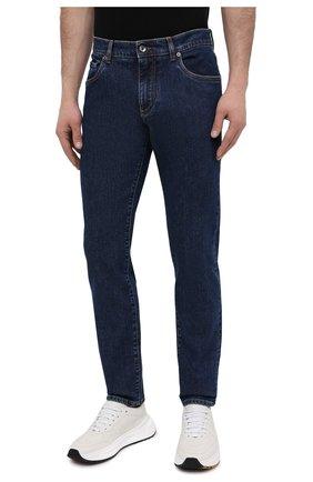 Мужские джинсы DOLCE & GABBANA синего цвета, арт. GY07CD/G8DN0 | Фото 3