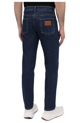 Мужские джинсы DOLCE & GABBANA синего цвета, арт. GY07CD/G8DN0 | Фото 4