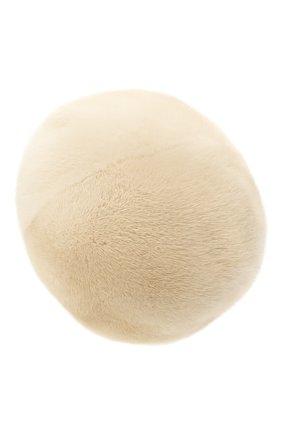 Женский берет из меха норки FURLAND бежевого цвета, арт. 0013600110188300576   Фото 2