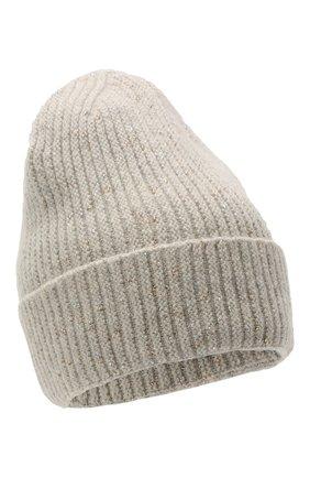 Женская шерстяная шапка giselle CANOE светло-серого цвета, арт. 4003572 | Фото 1