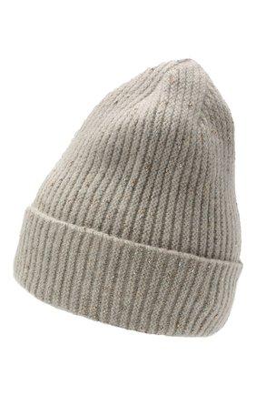 Женская шерстяная шапка giselle CANOE светло-серого цвета, арт. 4003572 | Фото 2