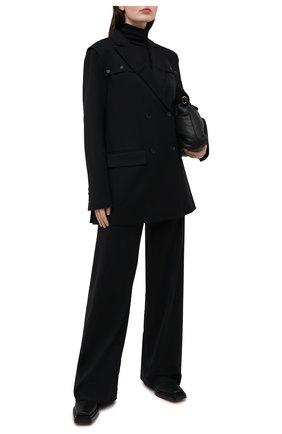 Женский шерстяной жакет RUBAN черного цвета, арт. RCSS21-3.1.42.2 | Фото 2