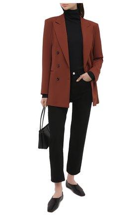 Женский шерстяной жакет BOSS коричневого цвета, арт. 50446463 | Фото 2