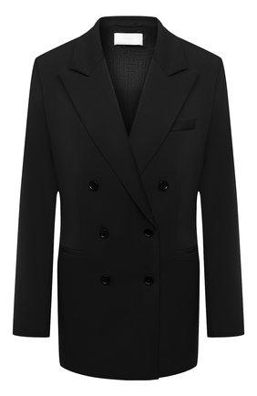 Женский шерстяной жакет BOSS черного цвета, арт. 50446463 | Фото 1