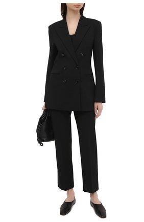 Женский шерстяной жакет BOSS черного цвета, арт. 50446463 | Фото 2