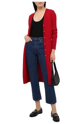 Женский шерстяной кардиган DOLCE & GABBANA красного цвета, арт. FX827T/JAVVB | Фото 2