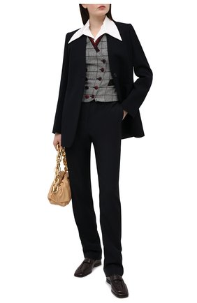 Женский жилет DOLCE & GABBANA серого цвета, арт. J7AANT/FQRBP | Фото 2