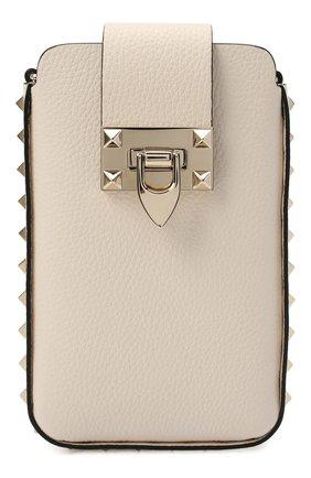 Мужского чехол valentino garavani для iphone VALENTINO кремвого цвета, арт. VW2P0V28/VSH   Фото 1