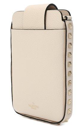 Мужского чехол valentino garavani для iphone VALENTINO кремвого цвета, арт. VW2P0V28/VSH   Фото 2