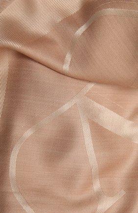 Женская шаль  VALENTINO светло-бежевого цвета, арт. VW2EB104/AJB   Фото 2