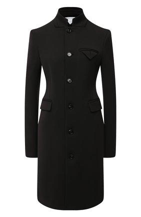 Женское шерстяное пальто BOTTEGA VENETA темно-коричневого цвета, арт. 650976/V0IV0   Фото 1