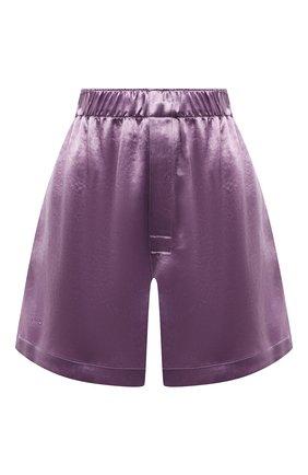 Женские шорты BOTTEGA VENETA сиреневого цвета, арт. 652539/V0CS0 | Фото 1