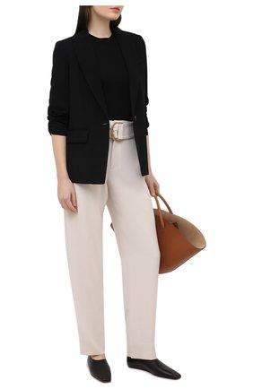 Женские брюки VINCE светло-бежевого цвета, арт. V700421927 | Фото 2
