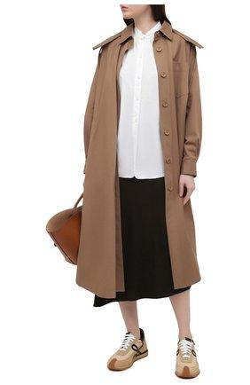 Женская юбка VINCE хаки цвета, арт. V691630637 | Фото 2