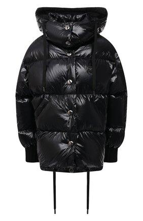 Женская пуховая куртка DOLCE & GABBANA черного цвета, арт. F9I37T/G7TTL | Фото 1