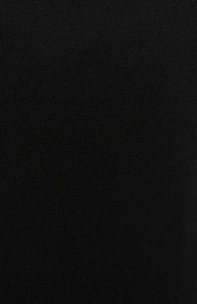 Женское боди TOTÊME черного цвета, арт. 211-473-774 | Фото 5