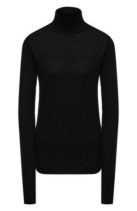Женская шерстяная водолазка TOTÊME черного цвета, арт. 211-554-751   Фото 1