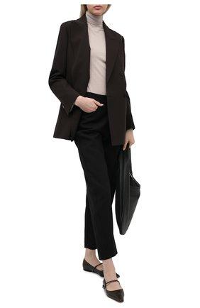 Женская шерстяная водолазка TOTÊME бежевого цвета, арт. 211-554-751 | Фото 2
