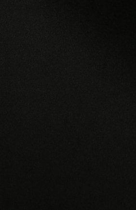 Женский шарф из шерсти и кашемира TOTÊME черного цвета, арт. 211-858-717   Фото 2