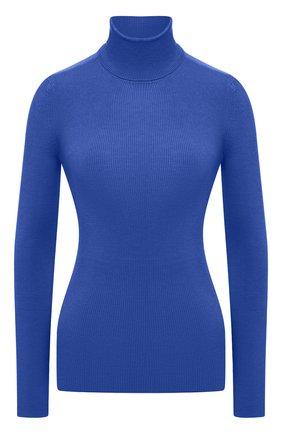 Женская водолазка из кашемира и шелка TOM FORD синего цвета, арт. MAK840-YAX176 | Фото 1 (Длина (для топов): Стандартные; Материал внешний: Шелк, Шерсть, Кашемир; Стили: Классический; Рукава: Длинные; Женское Кросс-КТ: Водолазка-одежда)