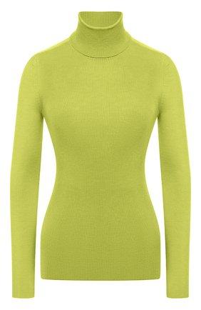 Женская водолазка из кашемира и шелка TOM FORD зеленого цвета, арт. MAK840-YAX176 | Фото 1 (Материал внешний: Шелк, Шерсть, Кашемир; Длина (для топов): Стандартные; Рукава: Длинные; Стили: Классический; Женское Кросс-КТ: Водолазка-одежда)