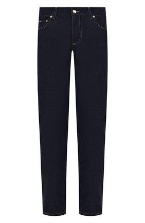 Мужские джинсы DOLCE & GABBANA синего цвета, арт. GY07CZ/G8DM7   Фото 1