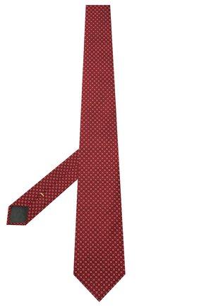 Мужской шелковый галстук CANALI красного цвета, арт. 18/HJ03077 | Фото 2