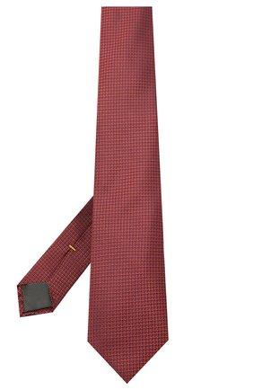 Мужской шелковый галстук CANALI красного цвета, арт. 18/HJ03125 | Фото 2