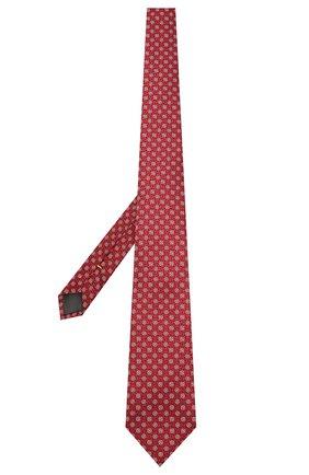 Мужской шелковый галстук CANALI бордового цвета, арт. 18/HJ03134   Фото 2