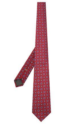Мужской шелковый галстук CANALI красного цвета, арт. 18/HJ03136 | Фото 2
