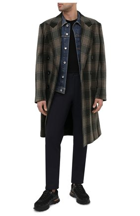 Мужская джинсовая куртка DOLCE & GABBANA синего цвета, арт. G9JC2D/G8CR7 | Фото 2