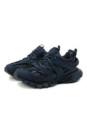 Мужские комбинированные кроссовки track BALENCIAGA синего цвета, арт. 542023/W2LA1 | Фото 1