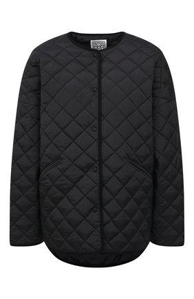 Женская стеганая куртка TOTÊME черного цвета, арт. 211-177-732   Фото 1