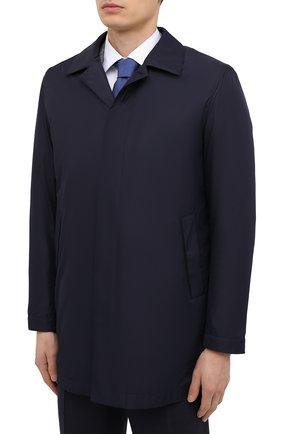 Мужской плащ CANALI темно-синего цвета, арт. 010358/SG01949 | Фото 3