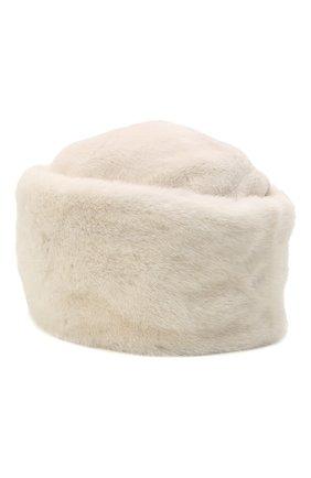 Женская шапка из меха норки KUSSENKOVV кремвого цвета, арт. 61211212455 | Фото 2