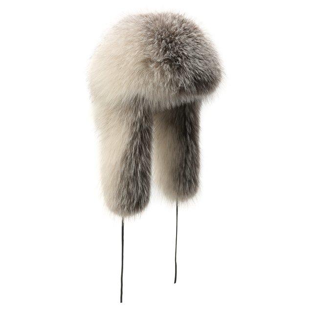 Шапка-ушанка Руслана из меха лисы FurLand