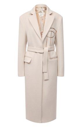 Женское шерстяное пальто RUBAN бежевого цвета, арт. RCSS21-1.1.310.3 | Фото 1