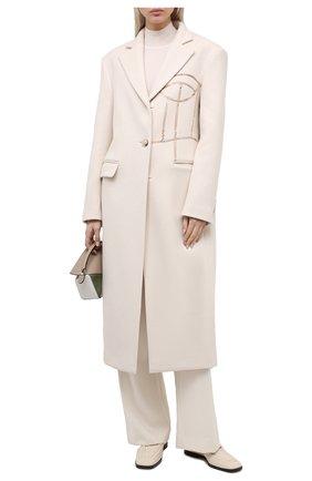 Женское шерстяное пальто RUBAN бежевого цвета, арт. RCSS21-1.1.310.3 | Фото 2