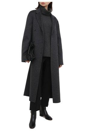 Женские кожаные ботильоны ribbon GIANVITO ROSSI черного цвета, арт. G73325.45RIC.NAPNER0 | Фото 2